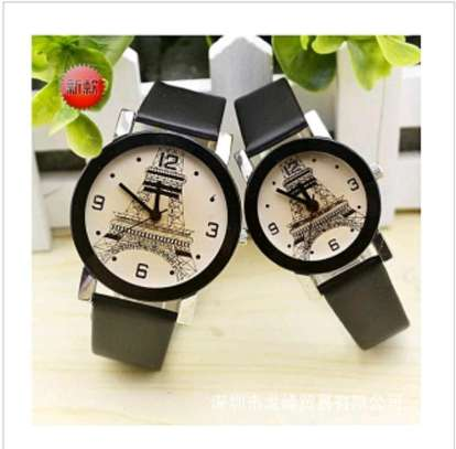 Smart Paris Tower Lovely Couple Wrist Watches