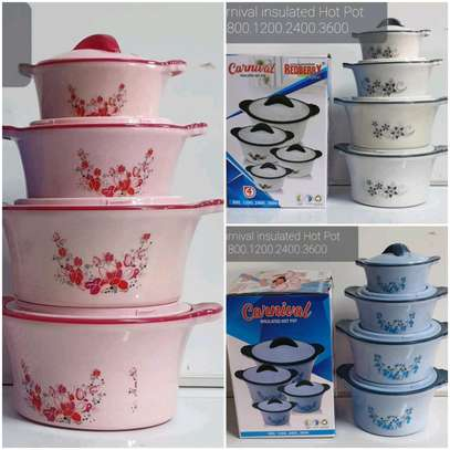 Carnival insulated Hot pot 4 pieces image 1