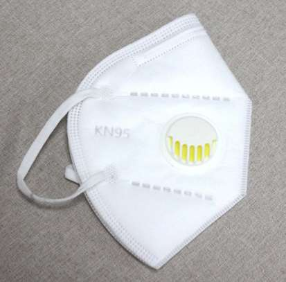 KN95 With Valve (Breathing Respirator) image 1