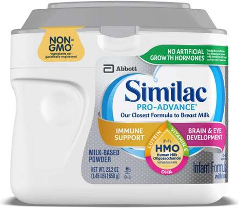 Similac Pro-Advance Non-GMO Infant Formula with Iron, with 2'-FL HMO, for Immune Support, Baby Formula, Powder, 23.2 Ounce image 1