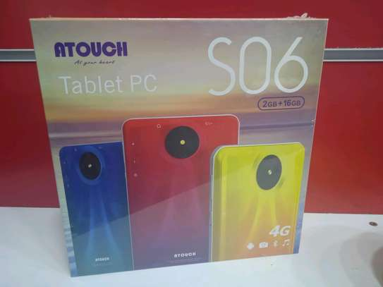 Tablets 16gb 2gb ram - 5mp camera+4G internet (Atouch S06) in shop image 1