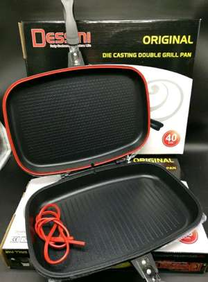 double grill pan dessini - 40cm.