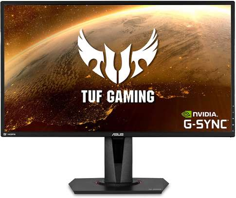 """Asus TUF Gaming VG27AQ 27"""" Monitor, 1440P WQHD (2560 x 1440), IPS, 165Hz (Supports 144Hz), G-SYNC Compatible, 1ms, Extreme Low Motion Blur Sync, Eye Care, DisplayPort HDMI image 1"""
