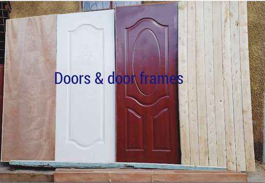 Doors and door frames