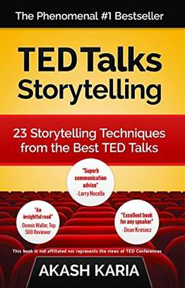 TED Talks Storytelling: 23 Storytelling Techniques from the Best TED Talks Kindle Edition by Akash Karia  (Author) 4.1 out of 5 stars    295 customer reviews
