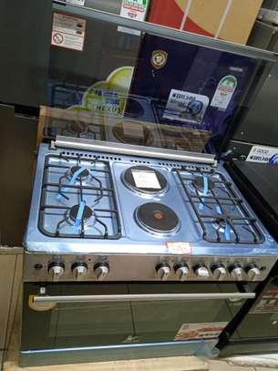 Master chef 6 burner cooker image 1