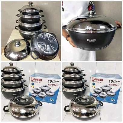 10 pieces Original Dessini Non stick cookware image 1