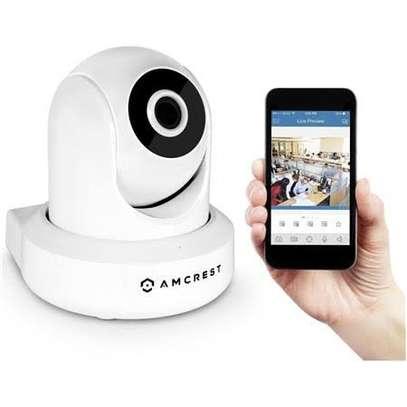 Amcrest ProHD 1080P WiFi Wireless IP Security Camera - 1080P 1920TVL IP2M-841 White White image 1