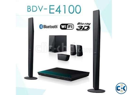 Sony BDV-E4100 - 5.1 Channel Home Theater System - 1000W - Black image 1