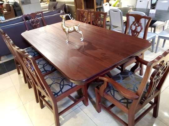 8Seater Wooden Dining table image 2