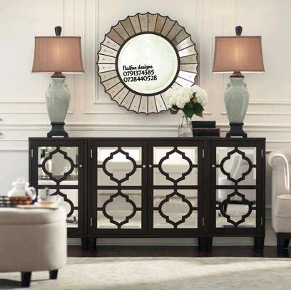 Consoles with mirrors/classic side tables/buffet table image 1