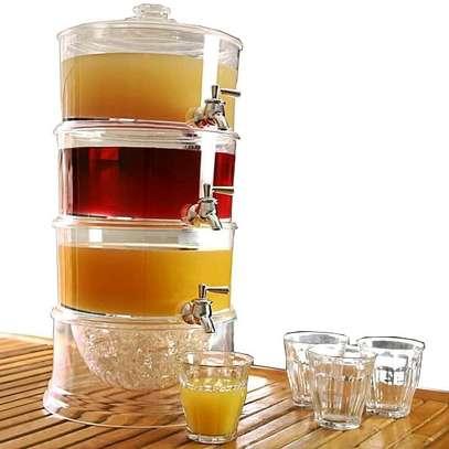3 tier acrylic juice dispenser image 1