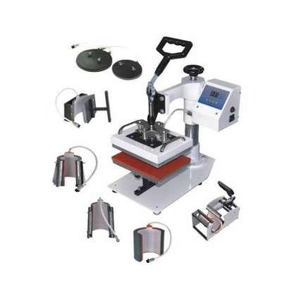 Multifunction Industrial Quality Digital Transfer Sublimation machine. image 1