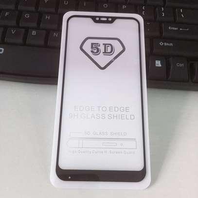 5D Full Glue Full Screen Tempered Glass Film for Xiaomi Redmi 6,Redmi 6A, Redmi 6 Pro image 5
