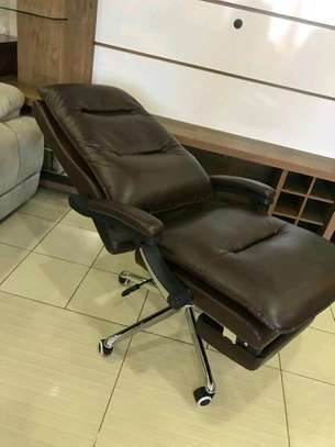 Brown Executive Office Chairs image 2