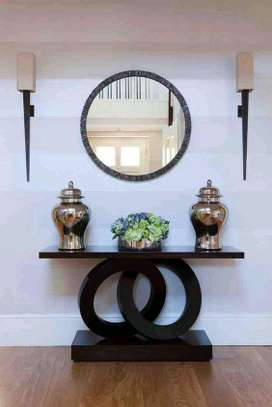 Console tables with mirror/Latest wooden console tables kenya/Classic console tables kenya image 1