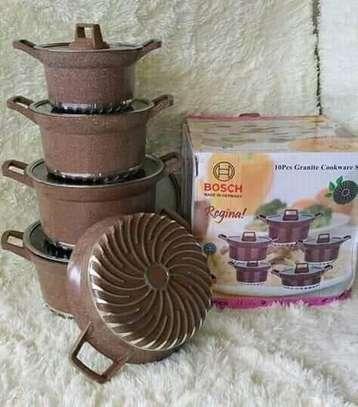 Bosch die cast non stick granite cookware image 1