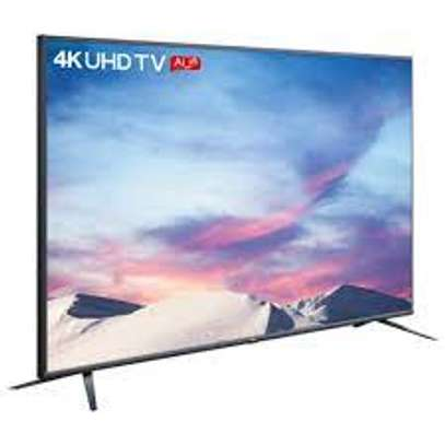 TCL 55 inch Smart Android TV with a frame image 1