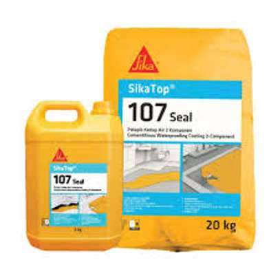 Sika Topseal 107 - Cementitious Waterproof Mortar.