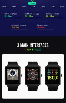 Smart Watch Skmei 1525 Sport Real-Time Recording with Heart Rate Monitor
