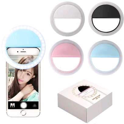 USB charge LED selfie ring light image 1