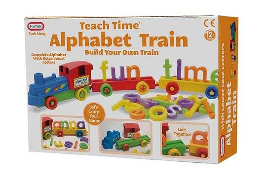 Children Kids Learning Alphabet Train Wheeled Toy image 2