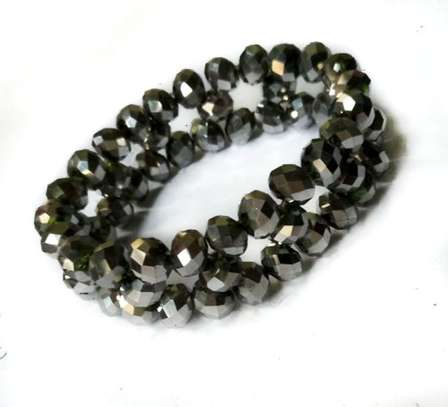 Dark Green Crystal Bracelet