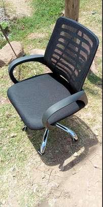 Black Secretary mesh chair image 1