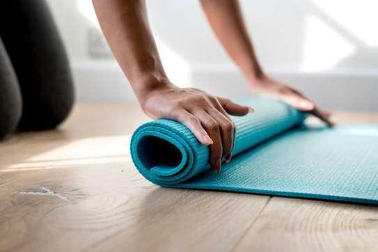 elegant beautiful yoga matts image 1