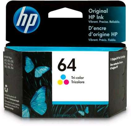 64 inkjet cartridge tri-colour N9J90AN image 6