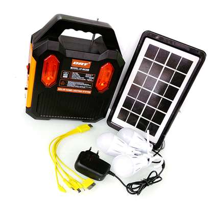 Original DAT AT-9028B Home Solar Lighting System With FM image 2