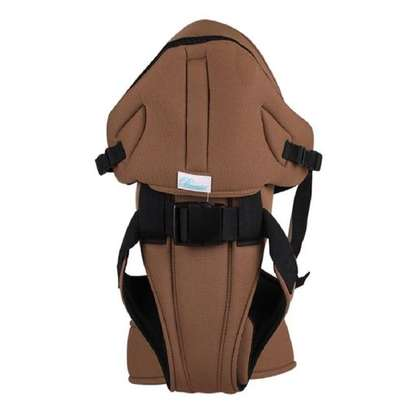 Generic Baby Carrier With a Hood (Brown) image 1