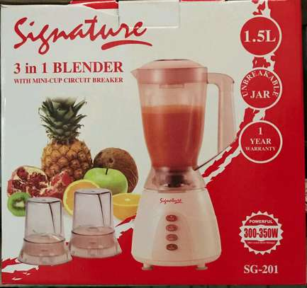 3 in 1 blender signature