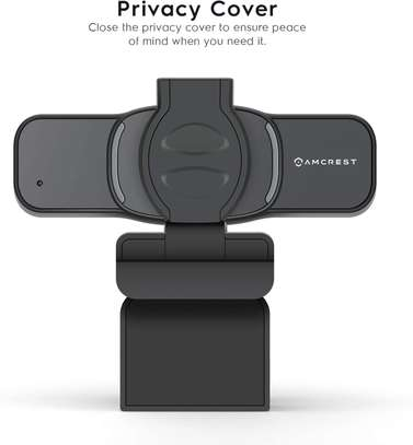 Amcrest 1080P Webcam with Microphone & Privacy Cover, Web Cam image 4