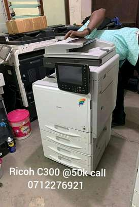 Accurate and high quality Ricoh C300 photocopier machine coloured image 1