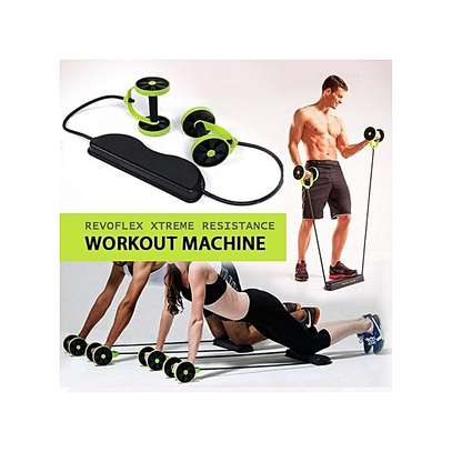 Revoflex xtreme Home Total Body Fitness Abdominal Trainer