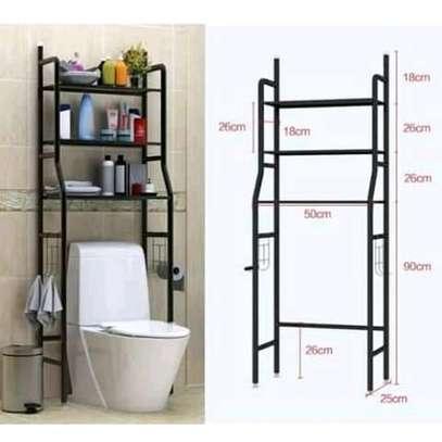 over the toilet bathroom storage organizer image 3