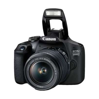 Canon 2000D DSLR Camera - 24.2MP - With 18-55mm Lens. Enjoy Cashback of Ksh.3200 When you purchase this Canon 2000D image 4