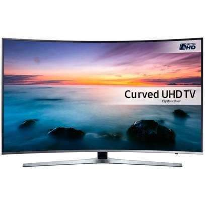 Samsung 55 inches curved digital smart tv image 1