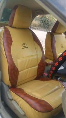 Synthetic Leather Car Seat Covers image 6