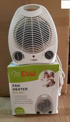 2 in 1 Room Heater With a Fan image 1