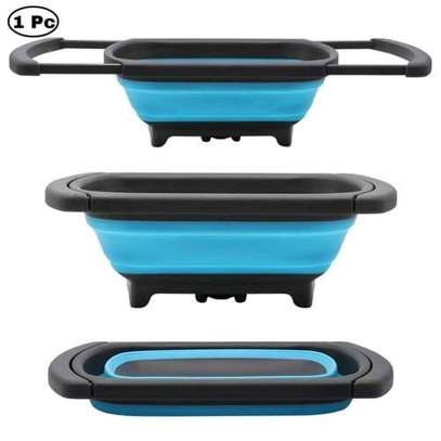 *Collapsable over the sink collander (with Adjustable handles) image 4