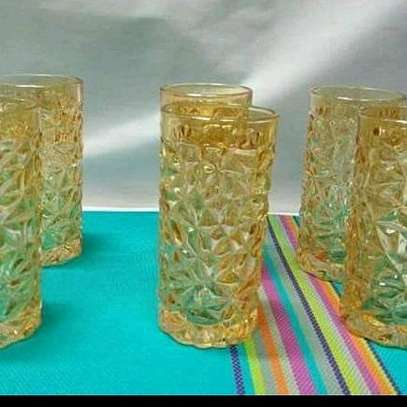 Gold glass long image 1