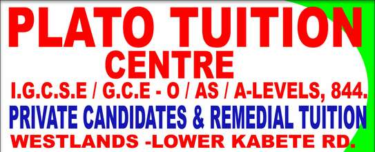 Plato tuition Center westlands