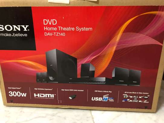 Sony TZ140 - 300W - 5.1Ch - DVD Home Theater - Brand New Sealed. Call Now image 2