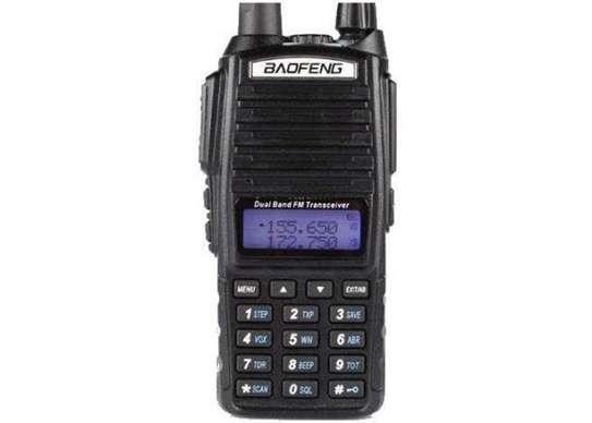 Baofeng UV-82 Two Way Radio Ham Walkie Talkie Dual Band Radio Interphone - Black image 1