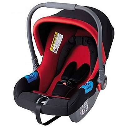 New Auto Carry Cot/ Infant Car Seat - Red and Black (Big)
