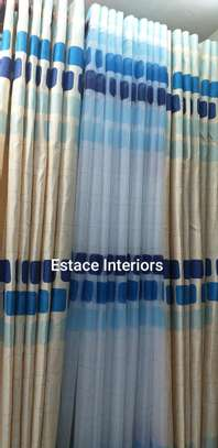 Matched curtains and sheers image 11