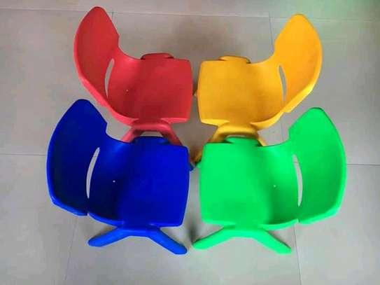 Kindergarten Plastic Chairs image 2