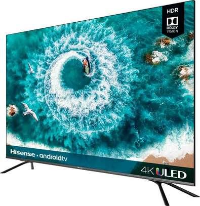 Hisense 55 inches Android Smart UHD-4K Digital TVs image 1